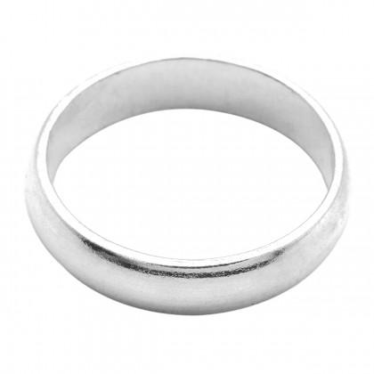 Elfi 925 Genuine Silver Plain Unisex Ring P7 - The Classic