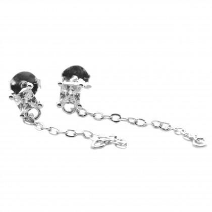 Elfi 925 Genuine Silver Delaila Earrings SE163