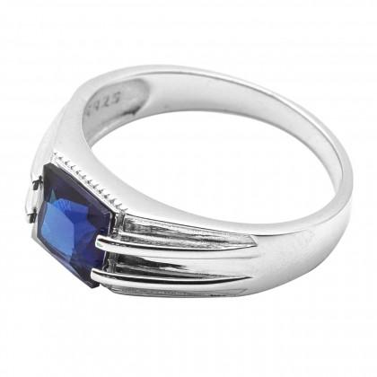 Elfi 925 Genuine Silver Ring R63(Blue) - Mudita