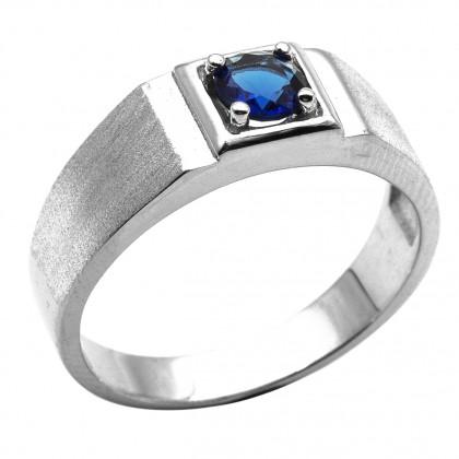 Elfi 925 Genuine Silver Engagement Ring R89 (B) – The Blue Aaron