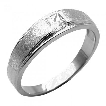 Elfi 925 Genuine Silver Engagement Ring R91 – The Lucas