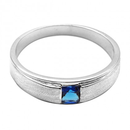 Elfi 925 Genuine Silver Engagement Ring R91(B) – The Blue Lucas